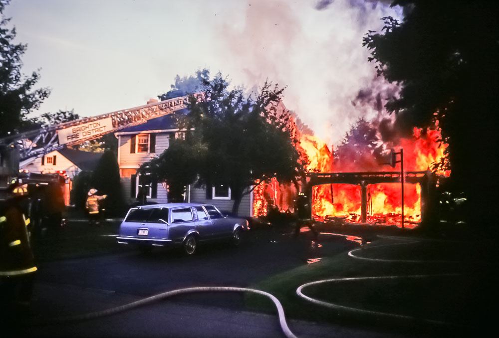 Evandale Fire, 1987