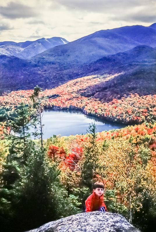 Heart Lake from Mt. Joe, 1987