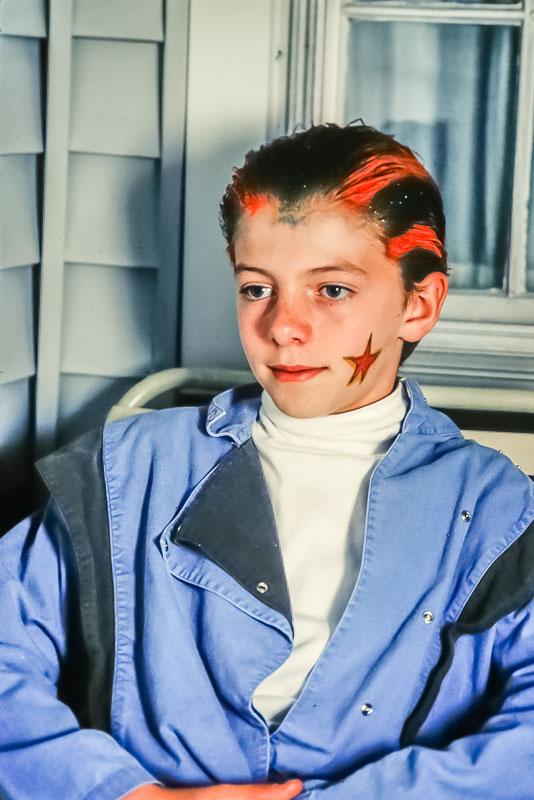 Steven, Halloween, 1987