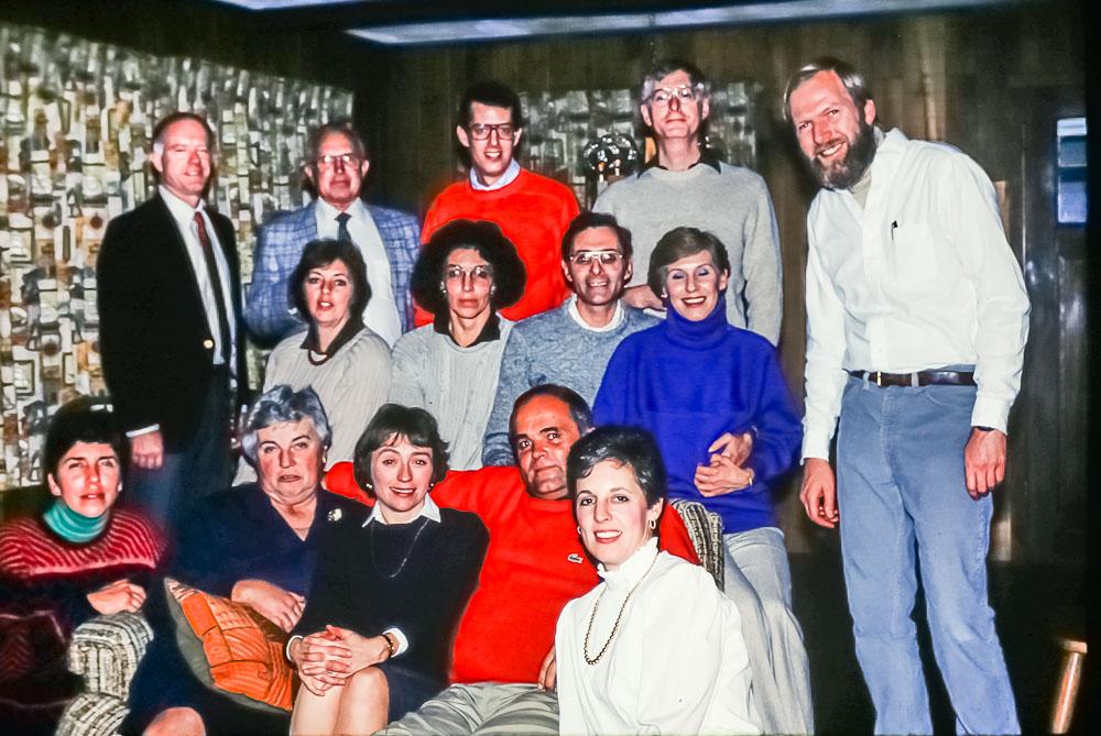 Pickford get together, October 1987