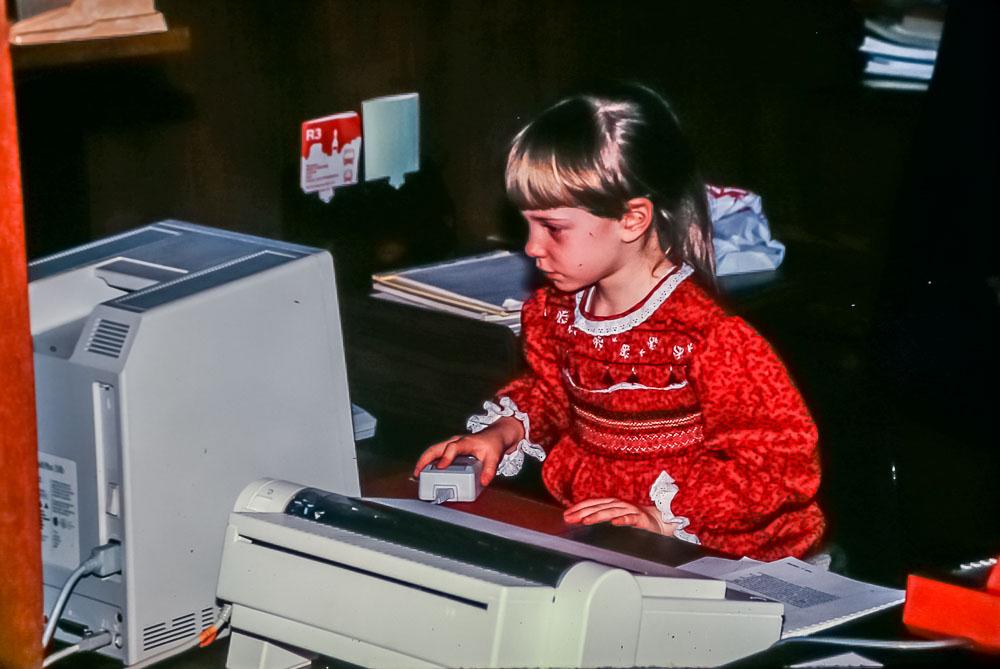 Claire,  December, 1987