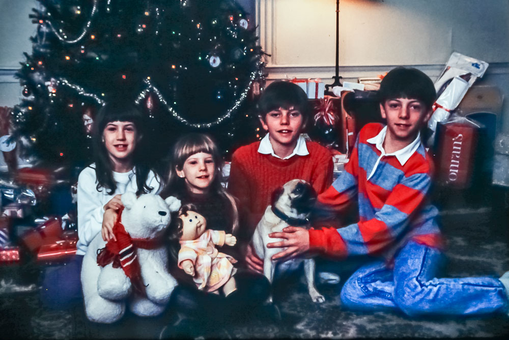 Christmas, 1987
