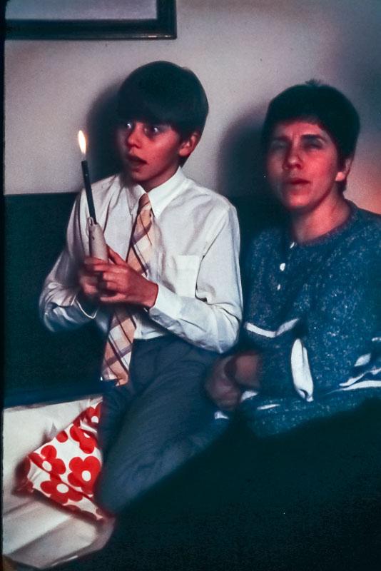 Andrew's birthday, 1987