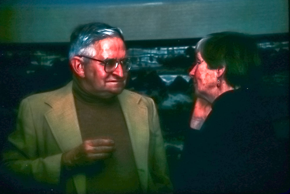Ed and Barbara, 1987