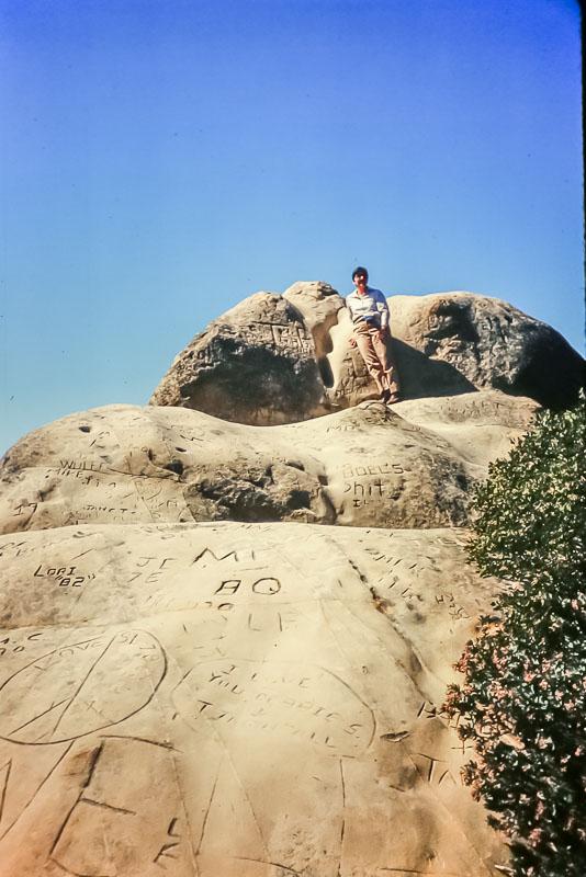 1988 - Hiking Mt. Diablo