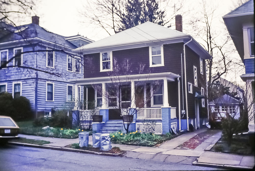 1988 - Page's house in Providence
