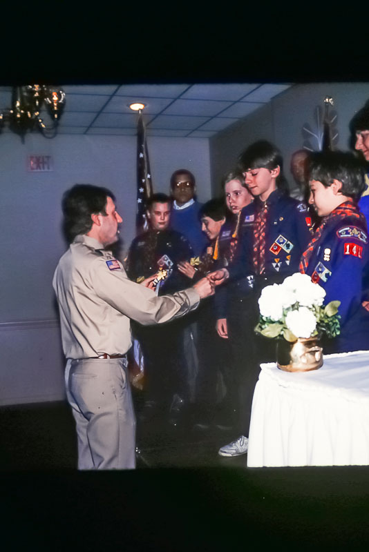 1988 Blue and Gold dinner