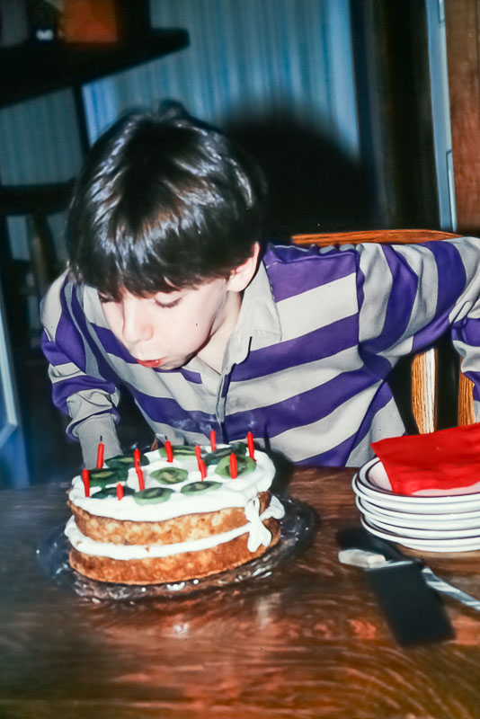 1988 Steven's birthday