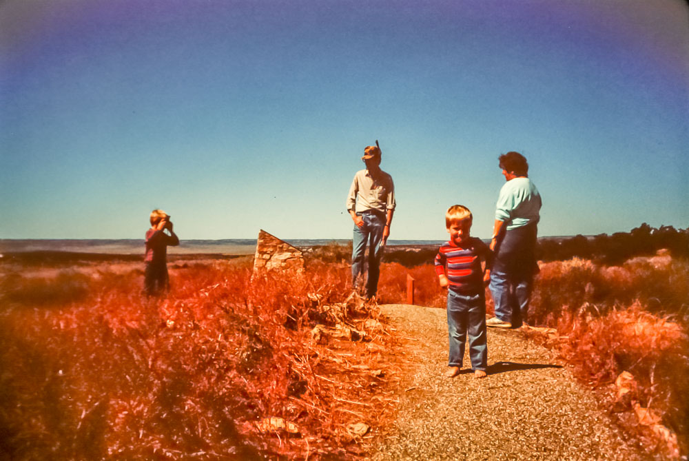 1988  Field trip with Phillips family