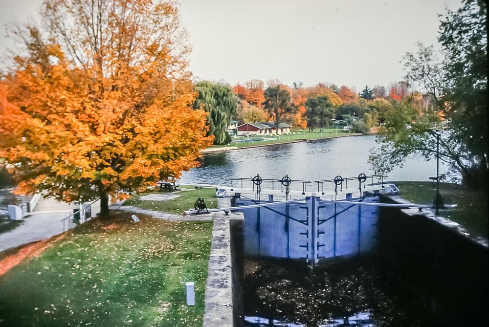 1988 Jones Falls in fall