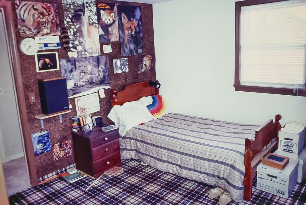 1988 Andrew's Danforth bedroom
