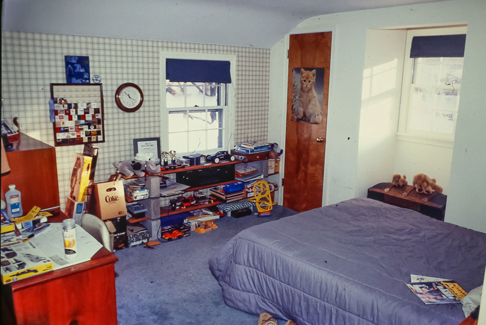 1988 Steven's Danforth bedroom