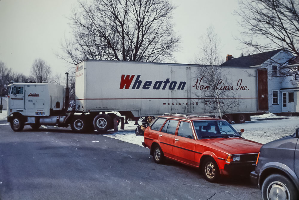 1989 Moving from Danforth Crescent