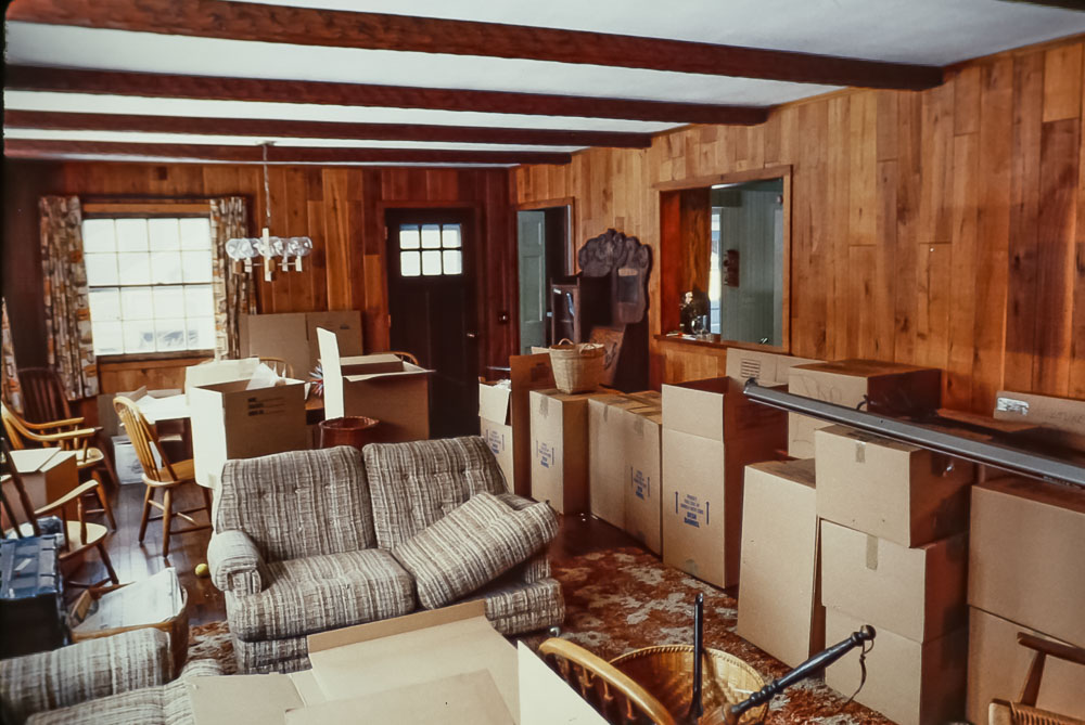1989 Danforth moving day