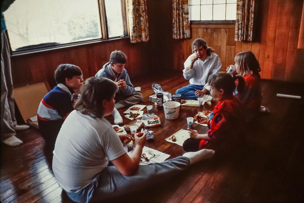 1989 Last meal on Danforth