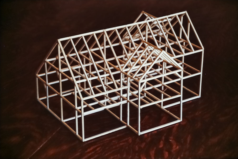 1989 Model of house