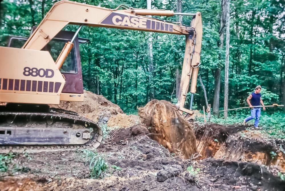 1989 excavation
