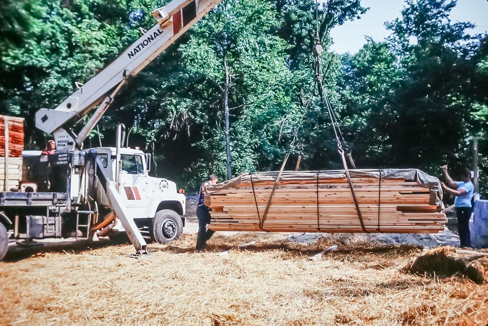 1989 unloading Timberpeg