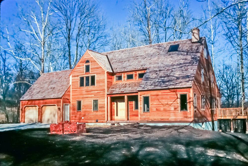 1990 Finished house. score paint