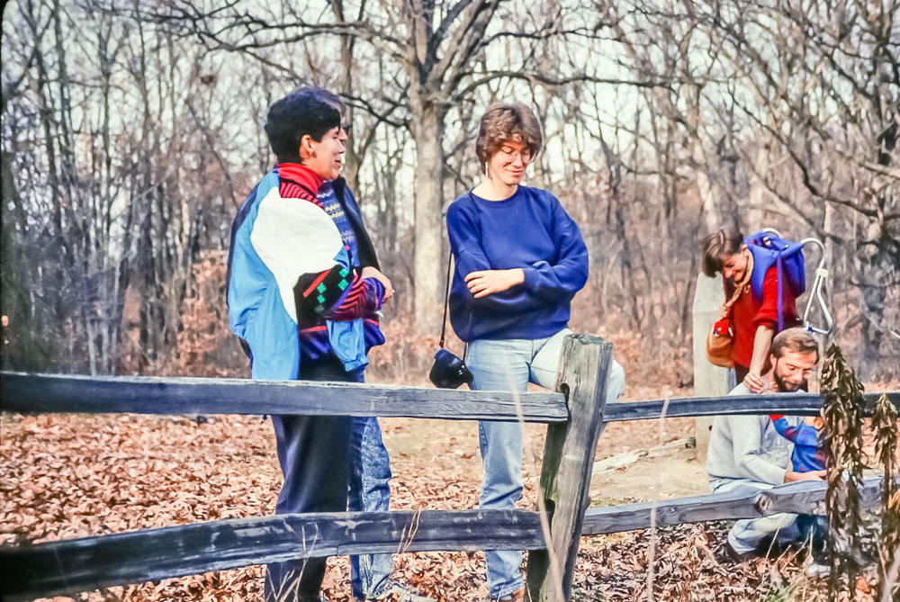 1990 Turkey Run with Peter and Sabine