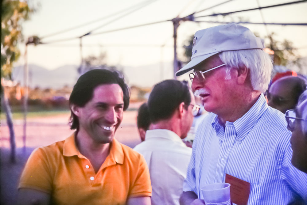1991 Frank Rickey at AMS conference