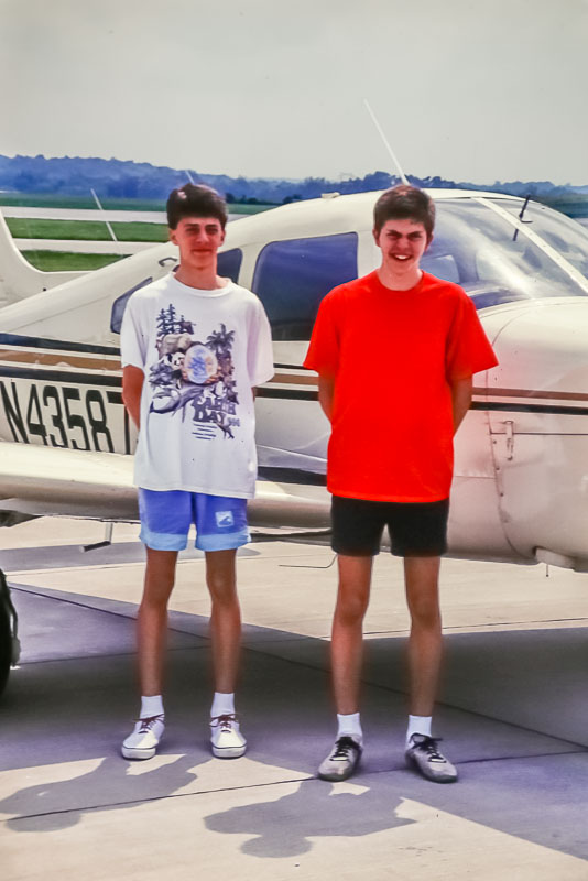 1991 John's plane