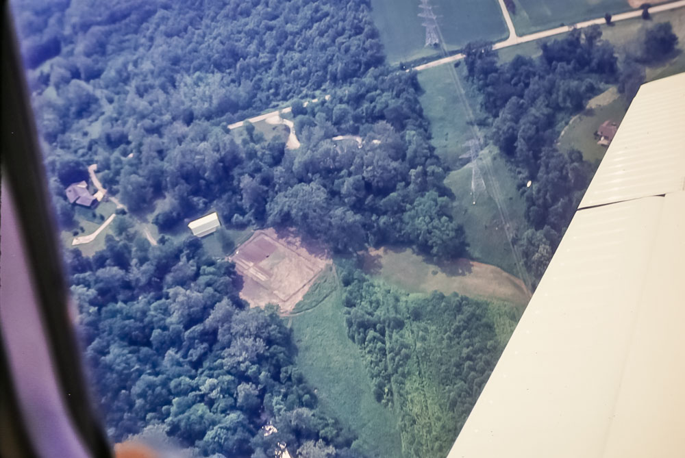 1991 View from John's plane