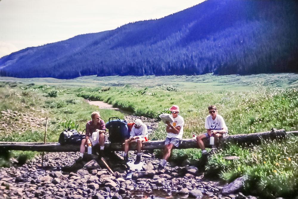 1991 Colorado hiking