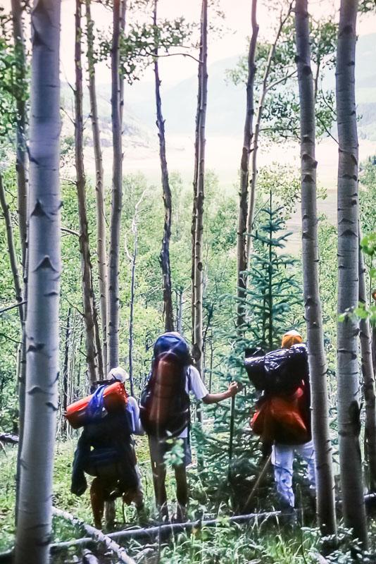 1991 Colorado camping