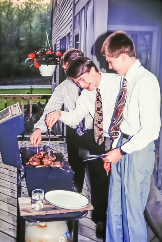 1993 Cooking ore-prom dinner