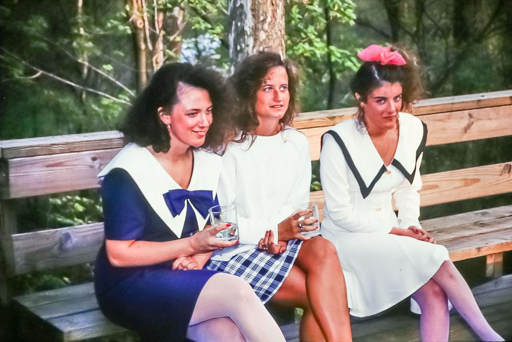1992 Pre-prom dinner