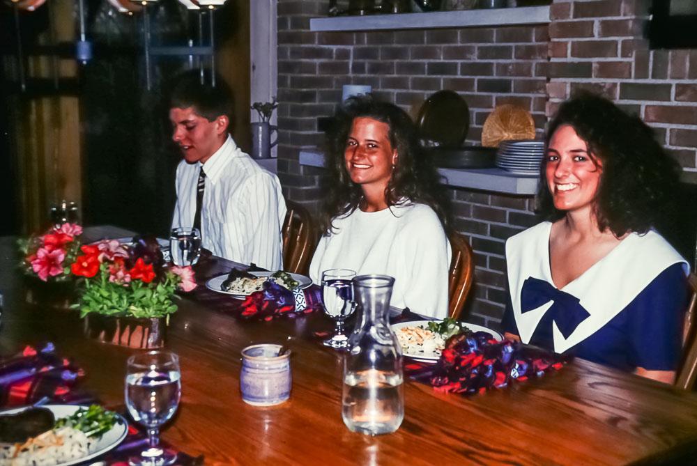 1993 Preprom dinner