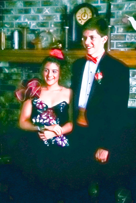 1993 Prom with Allison