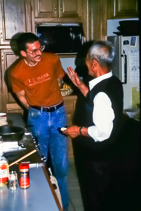 1992 Tom with Lijing's father
