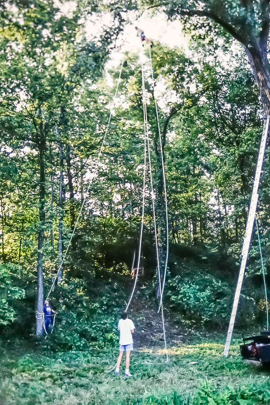 1992 Setting up swing