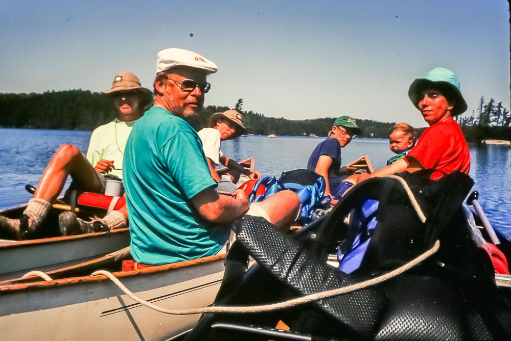 1992 Boundary waters canoe trip