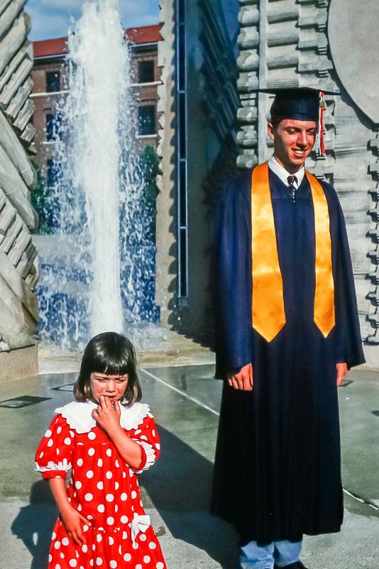 1995 Steven's graduation