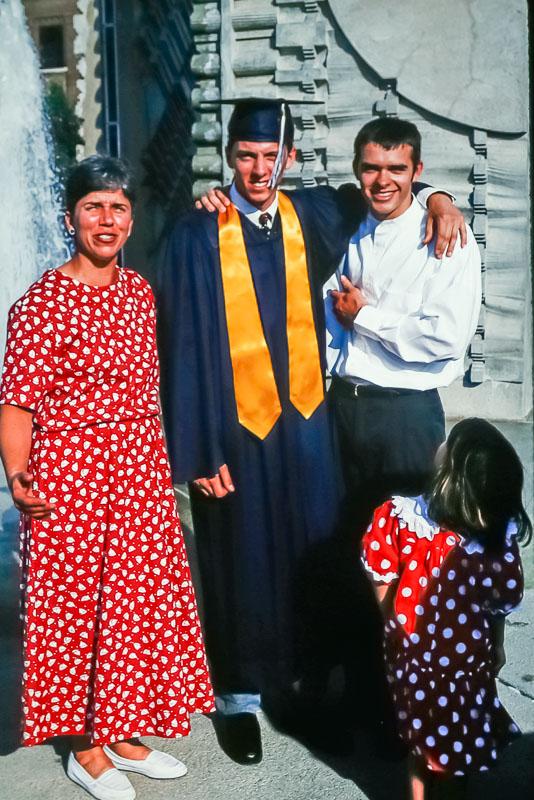 1995 Steven's HHS graduation