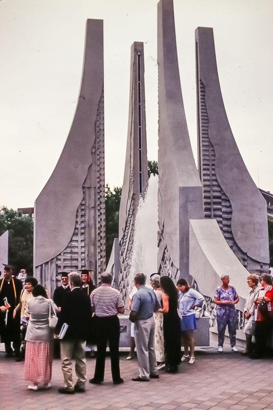 1999 Purdue fountain