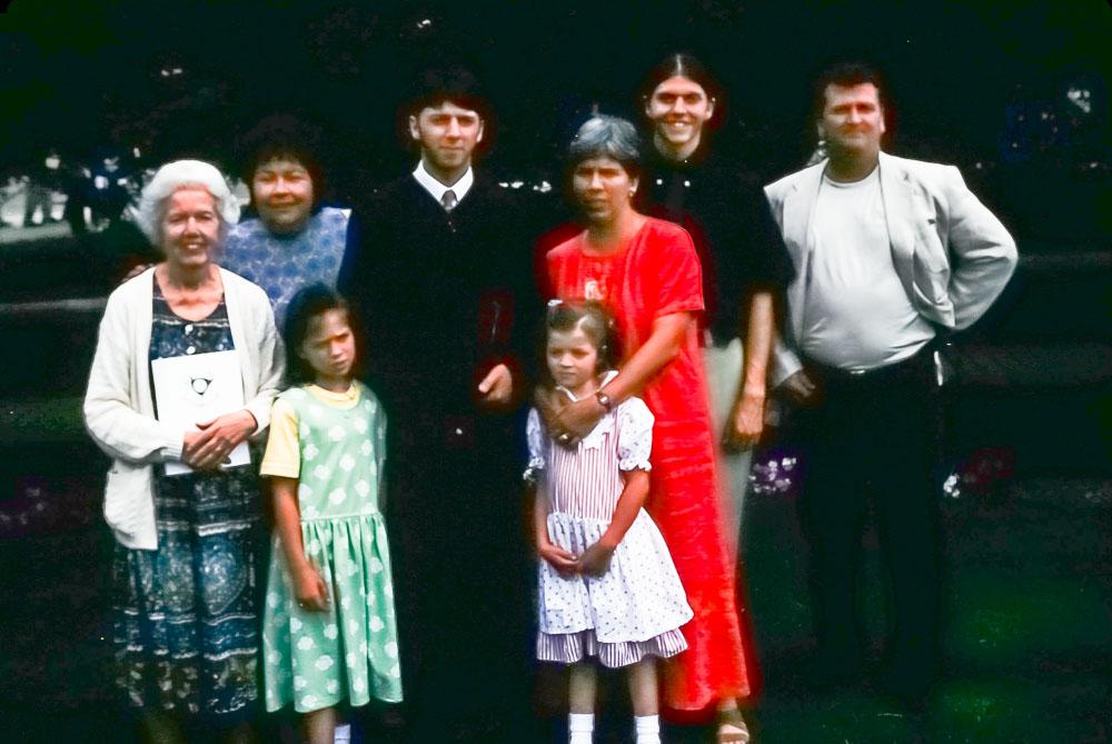 1999 Steven's graduation