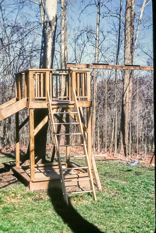 1994 slide and swings