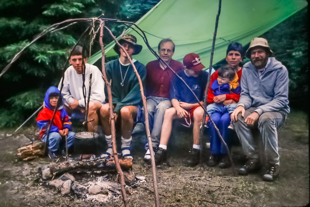 1994 Lake Superior PP backpacking crew