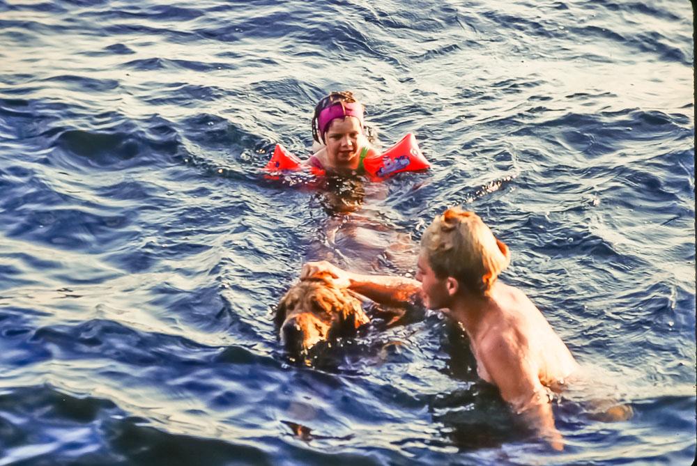 1994 Amanda, Andrew, and Abe