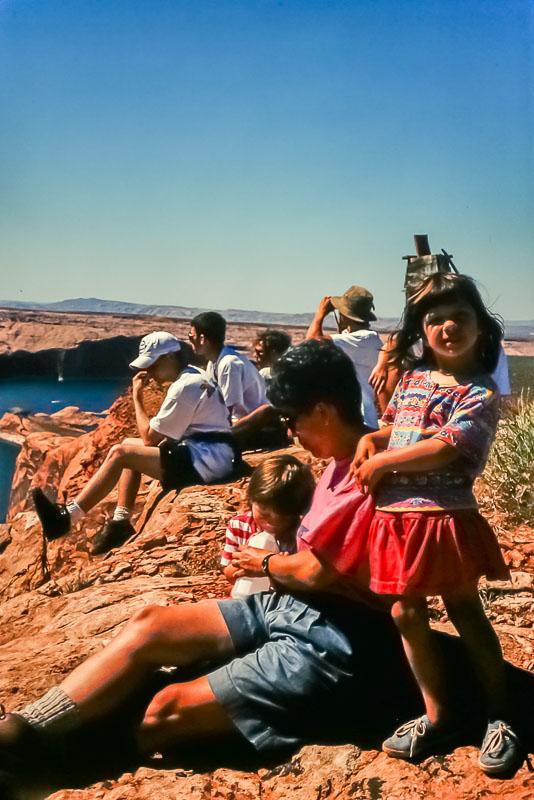1995 Lake Powell hiking