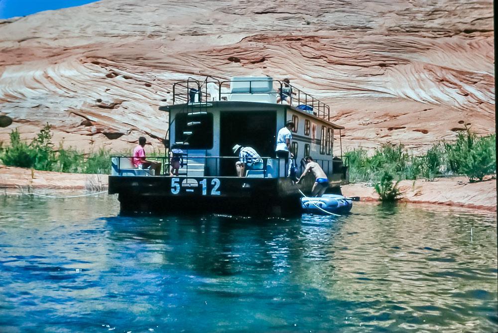 1995 Lake Powell houseboat