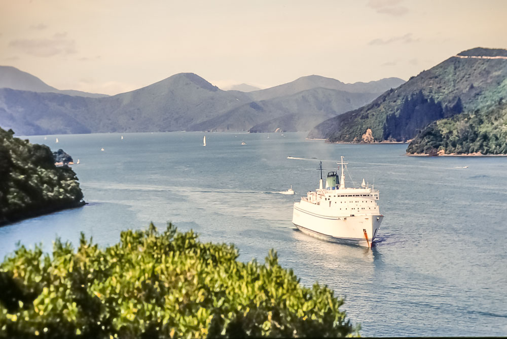 1996 Ferry to South Island of New Zealand