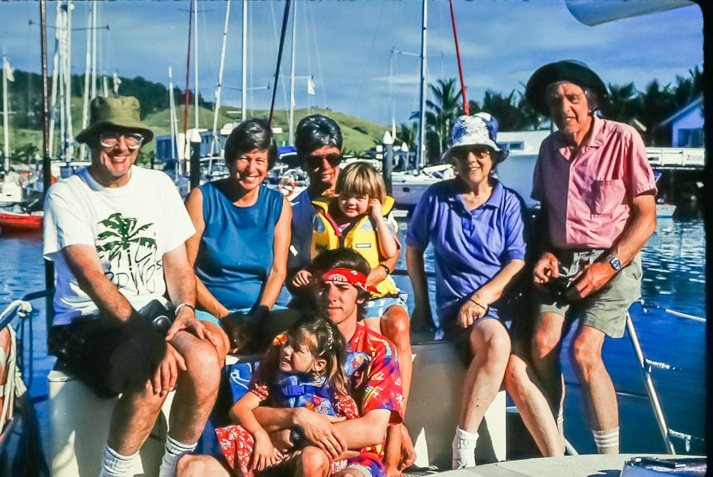 1996 Whitsundays sailing