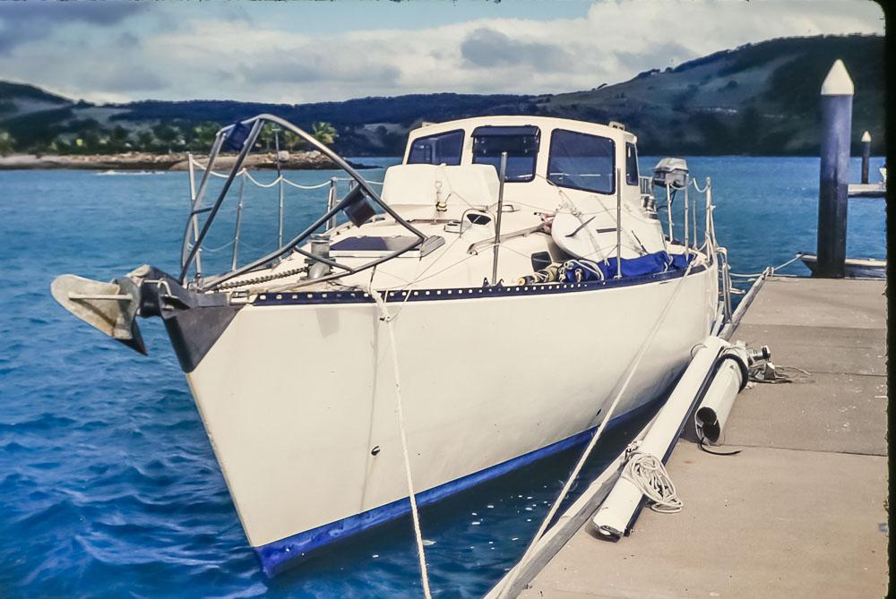 1996 Christina without mast