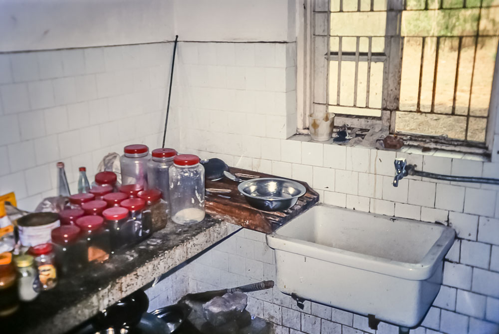 1996  Kitchen in Indian guest house