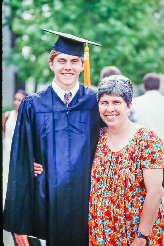 1997 Andrew's graduation